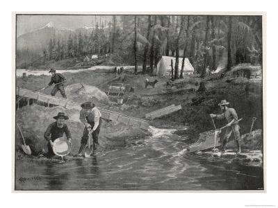 How They Get Gold in the Klondike