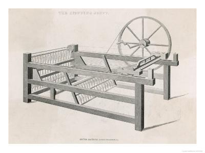 Hargreaves' Spinning Jenny James Hargreaves in 1767 Invented This Jenny