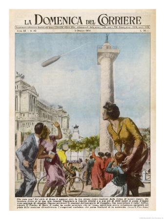 UFO is Seen by Many