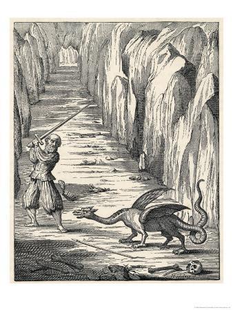 Dragon from the Caves of Mount Pilatus Switzerland