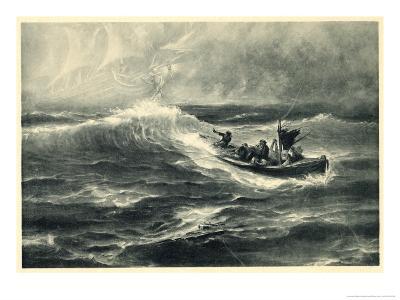 "Sighting of ""The Flying Dutchman"" Raises False Hopes for a Boatload of Shipwreck Survivors"