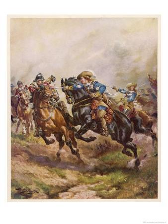 Battle of Edgehill: Prince Rupert's Charge