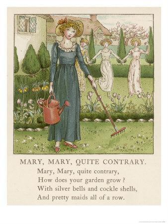 Mary Mary Quite Contrary How Does Your Garden Grow?