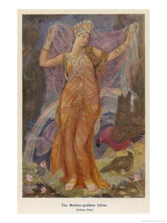 Ishtar, The Babylonian Goddess of Fertility and Love