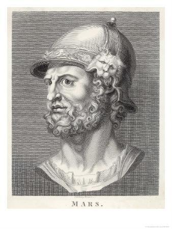 The Roman God of War Similar to the Greek God Ares But Not Identical