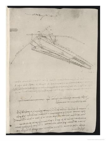 Sketch of a Design for a Flying Machine