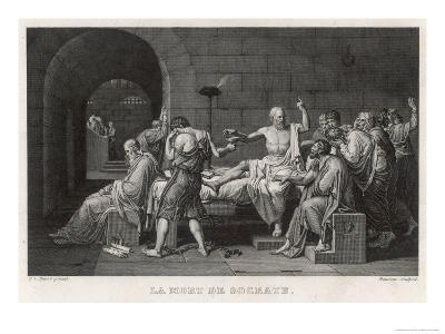Socrates Greek Philosopher Taking Hemlock