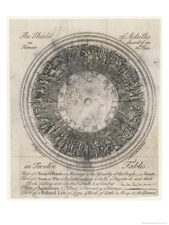 The Shield of Achilles in 12 Tables: 3 of a Town in Peace