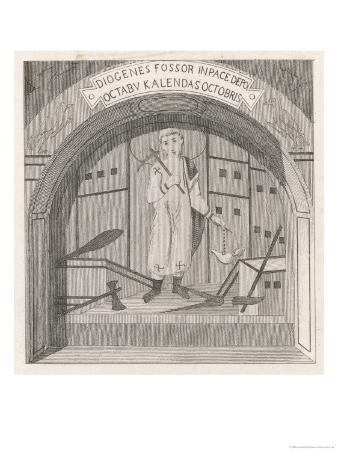 An Early Christian Priest in the Roman Catacombs