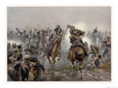 Battle of Leipzig the Brandenburg Hussars at Mockern