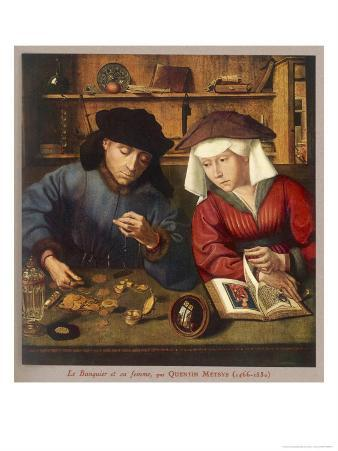 Banker of the 16th Century with His Wife
