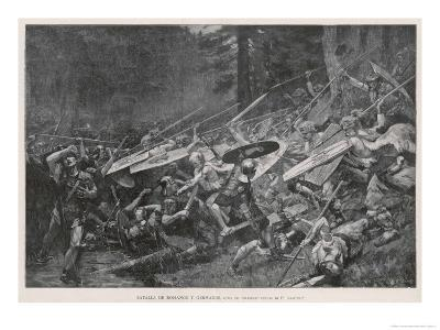 Germans Defend Their Land from the Romans