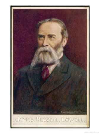 James Russell Lowell American Poet Essayist and Diplomat