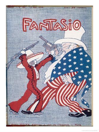 Uncle Sam Intervenes in Mexico