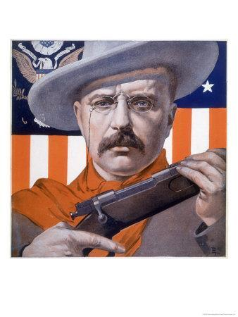 Theodore Roosevelt 26th American President: a Satirical View