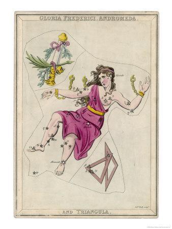 Andromeda (Gloria Federici) in Chains Plus Triangles Constellation