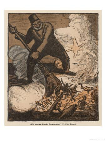 Turks Rout the English at Gallipoli