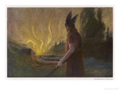 Wotans Abschied Wotan's Farewell to Brunnhilde