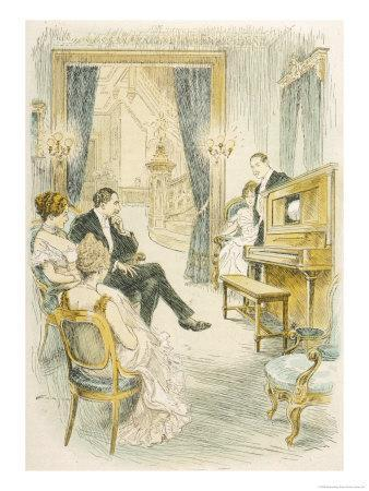 Listeners Admire the Reproductive Quality of the Duo-Art Pianola