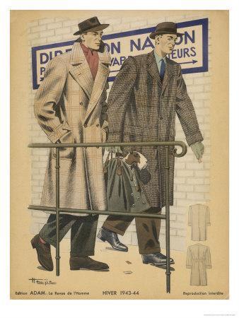 Men's Coats 1943