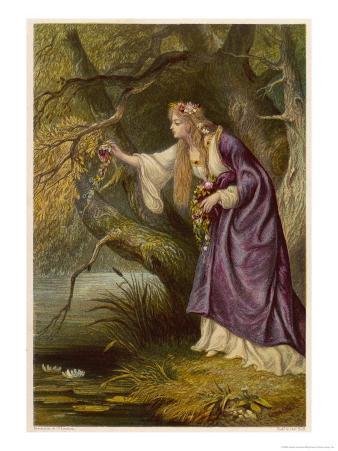 Hamlet, Act IV Scene I: Ophelia Gathers Flowers by the Stream