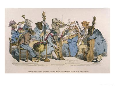 Musicians Satirised by Being Represented as Animals