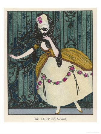 18th Century Costume for a Masked Ball