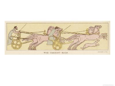An Ancient Greek Chariot Race