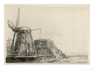 Somewhat Dilapidated Dutch Windmill