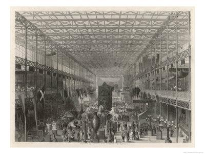 The Nave of the Great Exhibition Looking West