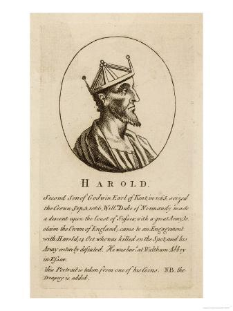 King Harold II Reigned for 9 Months in 1066 Killed at the Battle of Hastings