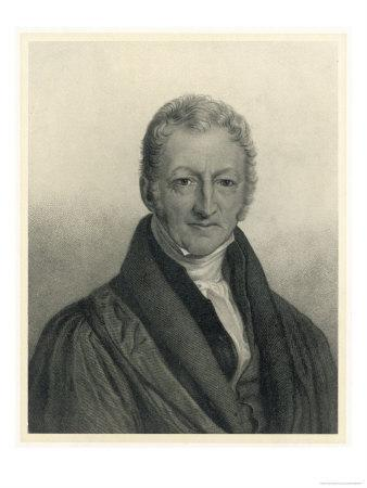 Thomas Robert Malthus Philosopher Known for Study of Population