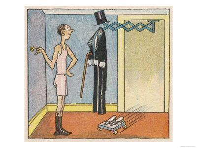 Gentleman Will Not Need to Dress Himself in the Automatic Home of the Future