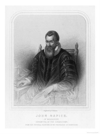John Napier Scottish Mathematician Inventor of Logarithms