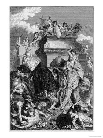 Second Punic War: Hannibal Goes into Action with His Elephants