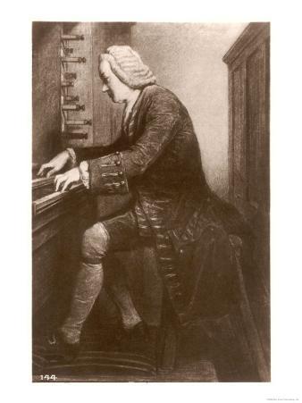 Johann Sebastian Bach German Organist and Composer at the Keyboard