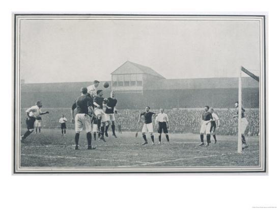 England V Scotland Goalmouth Action During Scotland's 2-1