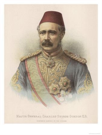 General Charles Gordon British Military Governor General of the Sudan