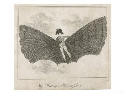 The Flying Man, a Proposal from the Napoleonic Era