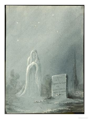 The Ghost of Louise Dunois Who Died Aged 18 Haunts the Cemetery Where She is Buried