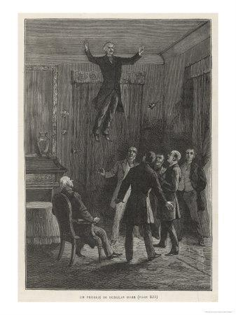 Demonstration Of Levitation By D D Home Giclee Print At