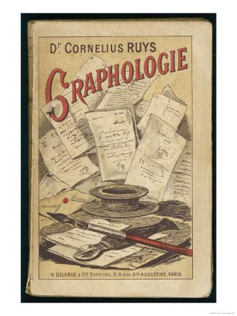 """Graphologie"" French Manual by Dr. Cornelius Ruys on the Study of Handwriting"