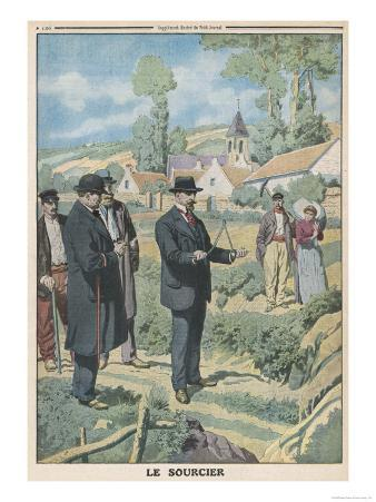 Near Paris a Congress of Experimental Psychology Holds a Successful Demonstration of Dowsing