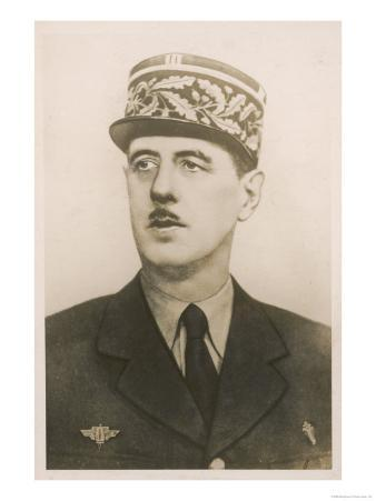 Charles de Gaulle French Soldier and Statesman