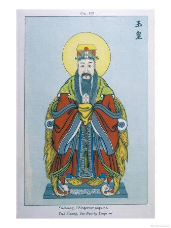 Yu-Hoang, The Jade Emperor, Supreme Deity of the Chinese Pantheon