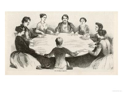 Spiritualism Comes to Germany, a Table-Lifting Seance at Leipzig in the Early Days