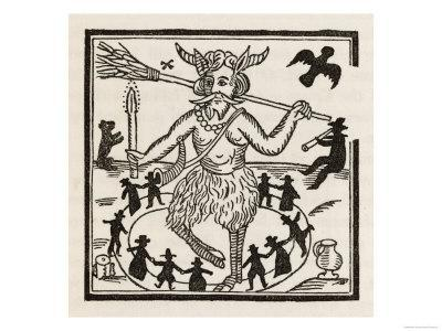 Witches Dance Round the Devil in a Circle