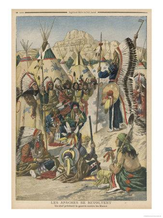 The Apache People are Exhorted to Revolt Against the United States Government