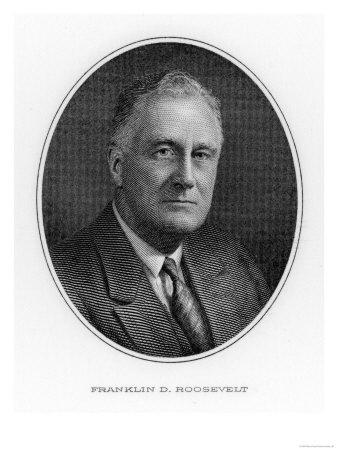 Franklin Delano Roosevelt, 32nd President of the United States
