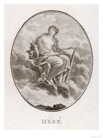 Daughter of Zeus and Hera Hebe was the Greek Goddess of Youth